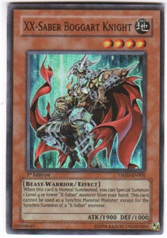 Yu-Gi-Oh Shining Darkness Single XX-Saber Boggart Knight Super Rare