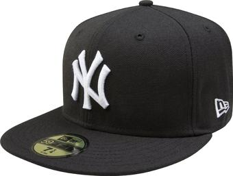 New York Yankees New Era 59Fifty Fitted Black Hat (7 1/4)