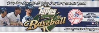 2004 Topps Factory Set Baseball (Box) (New York Yankees) - Very Rare