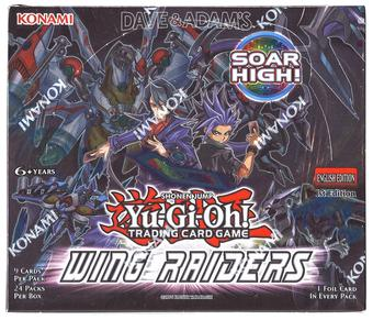 Konami Yu-Gi-Oh Wing Raiders 1st Edition Booster Box