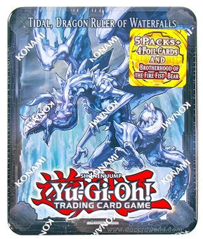 Konami Yu-Gi-Oh 2013 Collectible Tins Wave 1 Tin - Tidal, Dragon Ruler of Waterfalls
