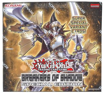Konami Yu-Gi-Oh Breakers of Shadow Special Edition Box