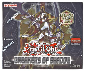 Yu-Gi-Oh Breakers of Shadow Booster Box