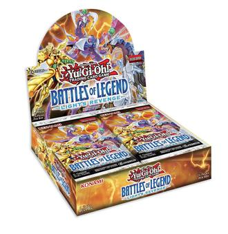 Yu-Gi-Oh! Battles of Legend: Light's Revenge Booster Box (Presell)