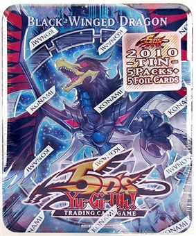 Konami Yu-Gi-Oh 2010 Collectible Tins Wave 1 Black-Winged Dragon Tin