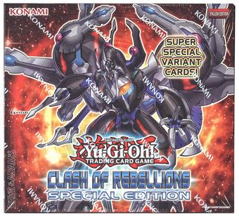 Konami Yu-Gi-Oh Clash of Rebellions Special Edition Box