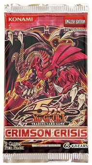 Konami Yu-Gi-Oh Crimson Crisis Booster Pack  (Lot of 24)
