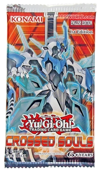 Konami Yu-Gi-Oh Crossed Souls 1st Edition Booster Pack