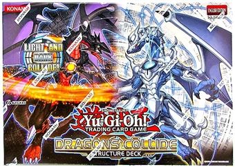 Konami Yu-Gi-Oh Dragons Collide Structure Deck Box