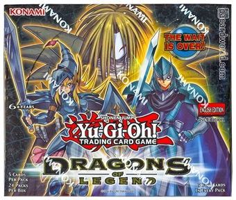 Yu-Gi-Oh Dragons of Legend 1st Edition Booster Box