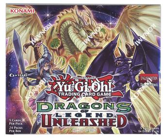 Konami Yu-Gi-Oh Dragons of Legend: Unleashed 1st Edition Booster Box