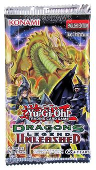Konami Yu-Gi-Oh Dragons of Legend: Unleashed Booster Pack