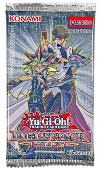Konami Yu-Gi-Oh Duelist Pack: Battle City Booster Pack