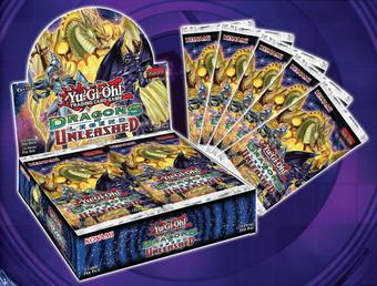 Konami Yu-Gi-Oh Dragons of Legend: Unleashed Booster 12-Box Case (Presell)