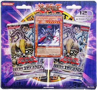 Upper Deck Yu-Gi-Oh Dark Legends Special Edition Pack (2 Packs + 1 Promo)