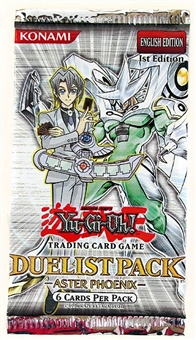 Upper Deck Yu-Gi-Oh GX Duelist Aster Phoenix Booster Pack (Lot of 24)