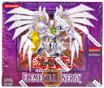 Upper Deck Yu-Gi-Oh Elemental Energy 1st Edition Booster Box