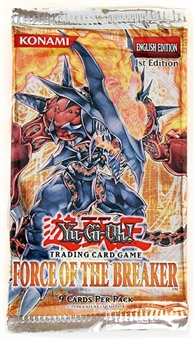 Upper Deck Yu-Gi-Oh Force of the Breaker Booster Pack