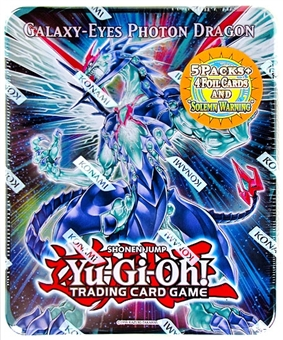 Konami Yu-Gi-Oh 2011 Holiday Tins Wave 2 Galaxy-Eyes Photon Dragon Tin