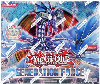 Konami Yu-Gi-Oh Generation Force Booster Box