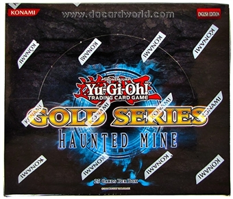 Konami Yu-Gi-Oh Gold Series 5 Haunted Mine Booster Box