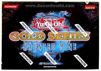 Konami Yu-Gi-Oh Gold Series 5 Haunted Mine Booster Pack
