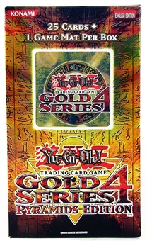 Konami Yu-Gi-Oh Gold Series 4 Pyramids Edition Booster Pack