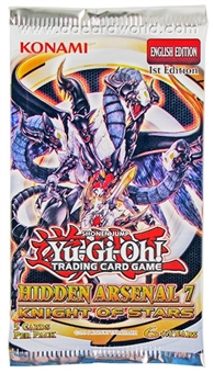 Konami Yu-Gi-Oh Hidden Arsenal 7: Knight of Stars Booster Pack