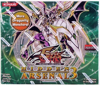 Konami Yu-Gi-Oh Hidden Arsenal 3 Booster Box