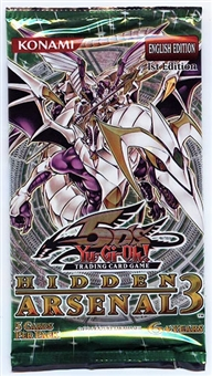 Konami Yu-Gi-Oh Hidden Arsenal 3 Booster Pack