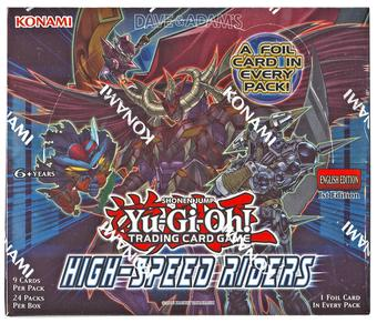 Yu-Gi-Oh High-Speed Riders Booster Box