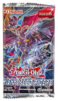 Konami Yu-Gi-Oh High-Speed Riders Booster Pack