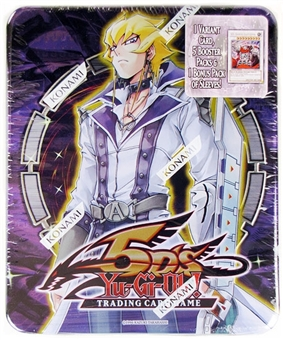 Konami Yu-Gi-Oh Jack Atlas Collectible Tin