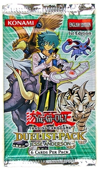 Upper Deck Yu-Gi-Oh GX Duelist Jesse Anderson Booster Pack