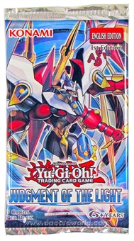 Konami Yu-Gi-Oh Judgment of the Light 1st Edition Booster Pack