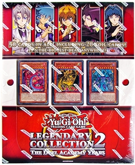 Konami Yu-Gi-Oh Legendary Collection 2: The Duel Academy Years Box