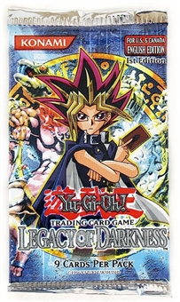 Upper Deck Yu-Gi-Oh Legacy of Darkness 1st Edition Booster Pack