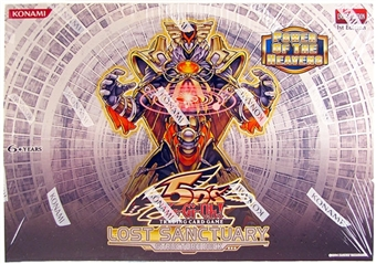 Konami Yu-Gi-Oh Lost Sanctuary Structure Deck Box