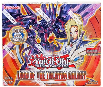 Konami Yu-Gi-Oh Lord of the Tachyon Galaxy 1st Edition Booster Box