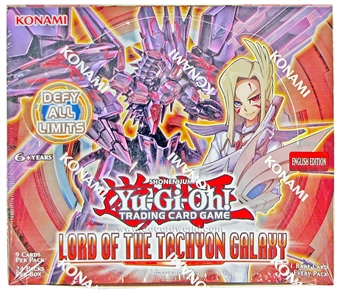 Konami Yu-Gi-Oh Lord of the Tachyon Galaxy Booster Box