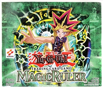 Upper Deck Yu-Gi-Oh Magic (Spell) Ruler 1st Edition Booster Box (24-Pack)