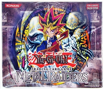 Upper Deck Yu-Gi-Oh Metal Raiders Unlimited Booster Box (European Edition)
