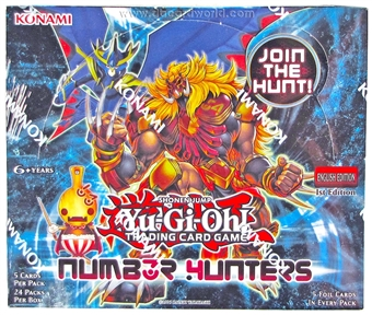 Konami Yu-Gi-Oh Number Hunters 1st Edition Booster Box