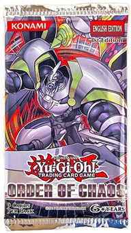 Konami Yu-Gi-Oh Order of Chaos Booster Pack - Regular Price $3.99!!!