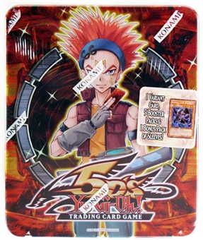 Konami Yu-Gi-Oh 2009 Crow Hogan Collectible Tin