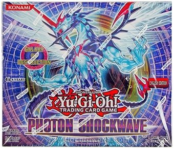 Konami Yu-Gi-Oh Photon Shockwave Booster Box