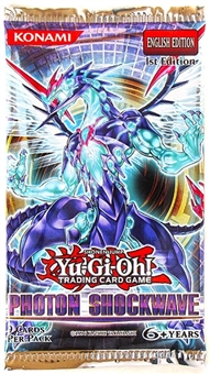 Konami Yu-Gi-Oh Photon Shockwave Booster Pack