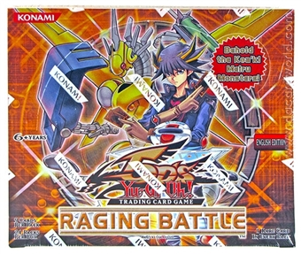 Konami Yu-Gi-Oh Raging Battle Booster Box