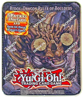 Konami Yu-Gi-Oh 2013 Collectible Tins Wave 2 Tin - Redox Dragon Ruler