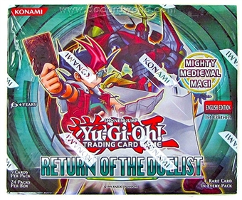 Konami Yu-Gi-Oh Return of the Duelist Booster Box